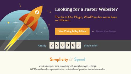 Wp Rocket and WordPress website